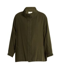THE GREAT | The Slouchy Army Cotton Jacket