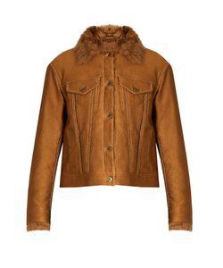 SIES MARJAN | Tigrado Shearling-Lined Jacket
