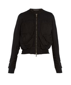 Haider Ackermann | Perth Cropped Cotton Bomber Jacket