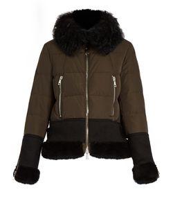 Moncler | Kikilia Water-Repellent Fur-Trimmed Down Jacket