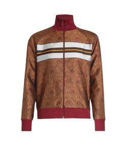 HILLIER BARTLEY | Paisley-Jacquard Track Top