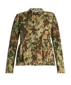 Rachel Comey | Camouflage-Print Collarless Jacket