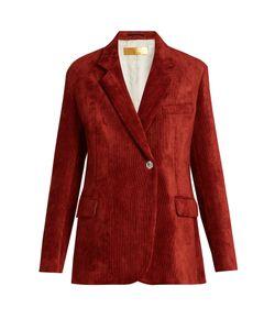 Golden Goose | Crystal-Button Corduroy Jacket
