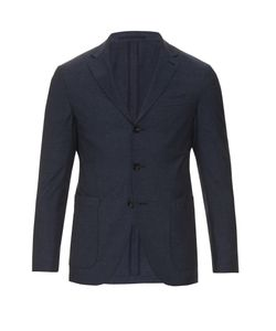 AC CANTARELLI | Three-Button Wool-Blend Blazer