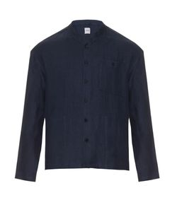 Fanmail | Stand-Collar Linen Jacket