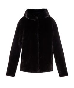 LILLY E VIOLETTA | Katie Hooded Mink-Fur Jacket