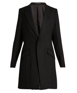 Y'S BY YOHJI YAMAMOTO | Single-Breasted Pleated-Back Wool Jacket