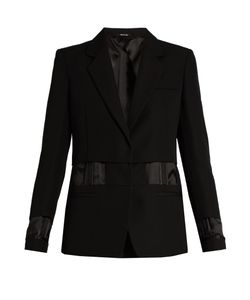 Maison Margiela | Single-Breasted Exposed-Lining Wool Jacket