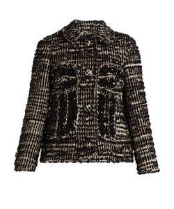 Simone Rocha | Textured-Tweed Jacket