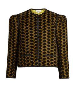 Isa Arfen | Embroidered Velvet Jacket