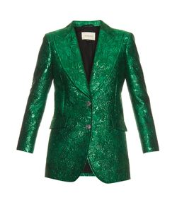 Gucci | -Brocade Lamé Jacket