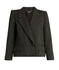 Marc Jacobs | Striped Double-Breasted Jacket