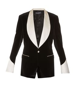 Dolce & Gabbana | Single-Breasted Velvet Blazer