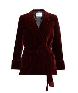 RACIL | Orion Cotton-Blend Velvet Jacket