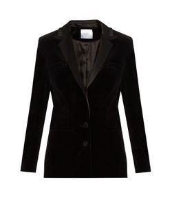 RACIL | Phoenix Satin-Lapel Velvet Jacket
