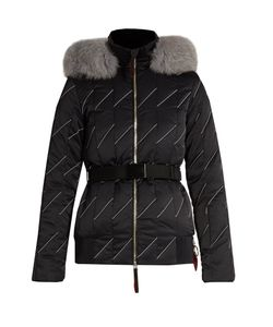 TONI SAILER | Romy Fur-Trimmed Technical Ski Jacket
