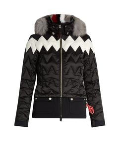 TONI SAILER | Maria Fur-Trimmed Technical Ski Jacket