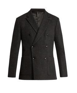 HELBERS | Unconstructed Double-Breasted Blazer