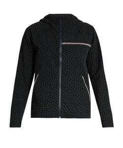 OUTDOOR VOICES X A.P.C | Clover-Print Hooded Performance Jacket