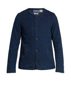 Blue Blue Japan | Padded Cotton-Denim Jacket