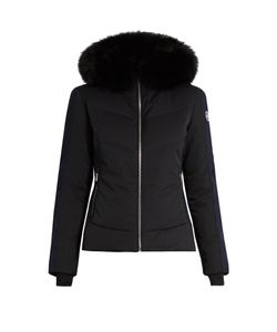 FUSALP | Gardena Ii Fur-Trimmed Hooded Ski Jacket