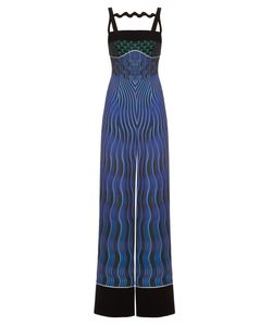 Mary Katrantzou | Moss Snuffbox-Print Crepe Jumpsuit