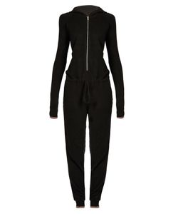 PEPPER & MAYNE | Cashmere Hooded Jumpsuit