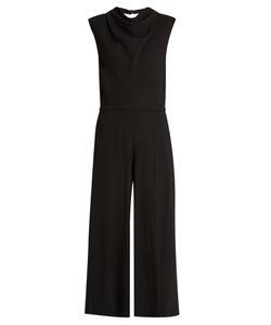 Maison Margiela | Cowl-Neck Wool-Crepe Jumpsuit