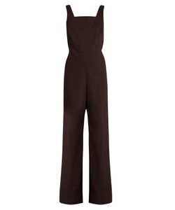 Rosie Assoulin | Wide-Leg Cotton-Blend Twill Jumpsuit