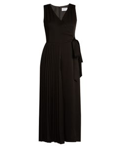 OSMAN | Perfect 5 Half-Pleated Crepe Jumpsuit