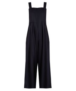Sea | Sleeveless Wide-Leg Wool Jumpsuit