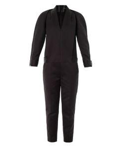 Alexander Wang | Compact Twill Tuxedo Jumpsuit