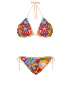 ANNA KOSTUROVA | Millefiori Crochet Bikini