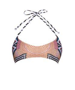 Mara Hoffman | Ikat-Print Strap Reversible Bikini Top