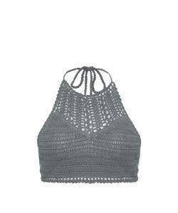 SHE MADE ME | Essential Halterneck Crochet Bikini Top