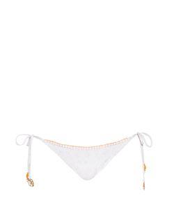 BIONDI | Boheme Lace-Print Bikini Briefs