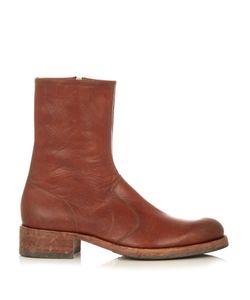 Maison Margiela | Replica Tarnished Toe-Cap Boots