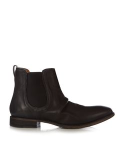 John Varvatos | Fleetwood Sharpei Leather Chelsea Boots