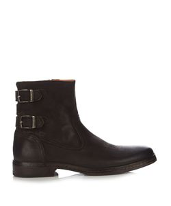 John Varvatos | Julian Distressed Leather Boots