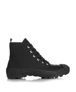 Burberry | Rubberised Leather Boots
