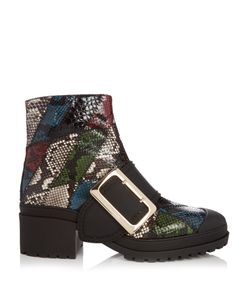 Burberry Prorsum | The Buckle Watersnake Ankle Boots