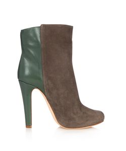 MALONE SOULIERS | Madleen Bi-Colour Suede Ankle Boots