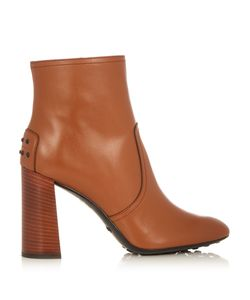 Tod'S   Gomma Leather Ankle Boots