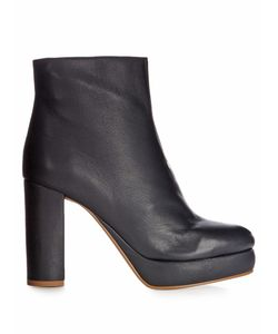 See By Chloe | Liza Leather Platform Ankle Boots