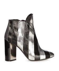 Pierre Hardy | Belle Snakeskin Ankle Boots