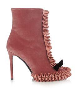 Marco De Vincenzo | Velvet Ankle Boots