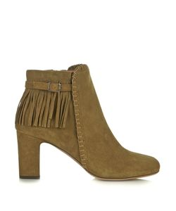 Tabitha Simmons | Surrey Fringed-Suede Boots