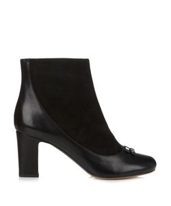 Tabitha Simmons | Beatrix Leather And Suede Ankle Boots