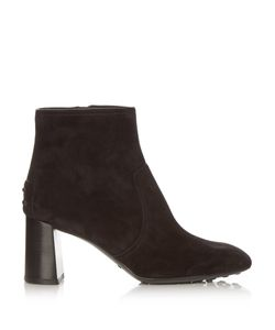Tod'S | Gomma Suede Ankle Boots