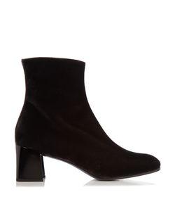 Jil Sander | Velvet Ankle Boots
